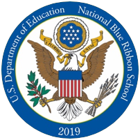National Blue Ribbon Schools Program Logo - Mendham Township Elementary School