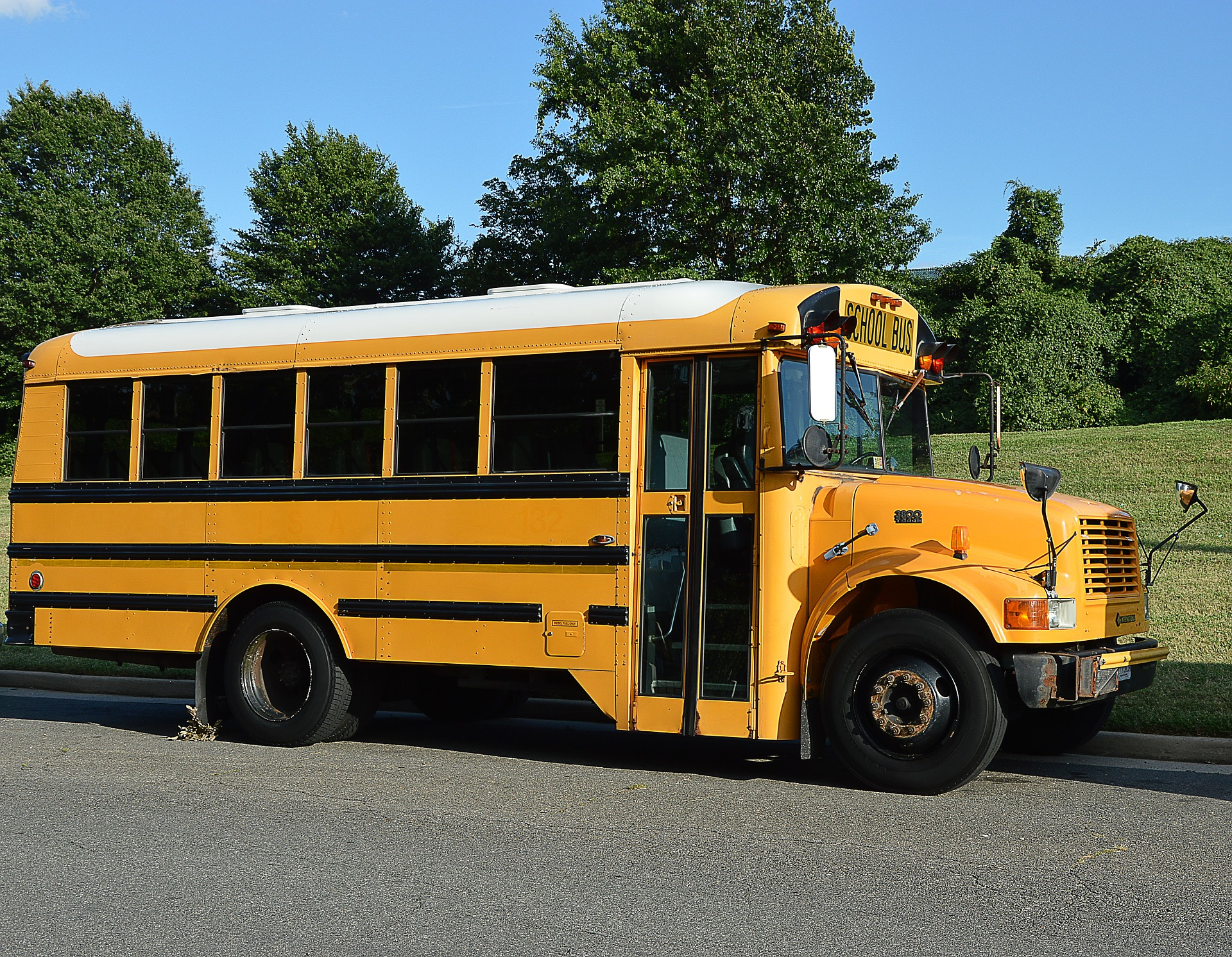 Image of Mendham Township School District Buses